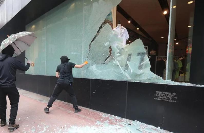 摩天注册,香港暴徒又上摩天注册街还不知丧钟为谁图片