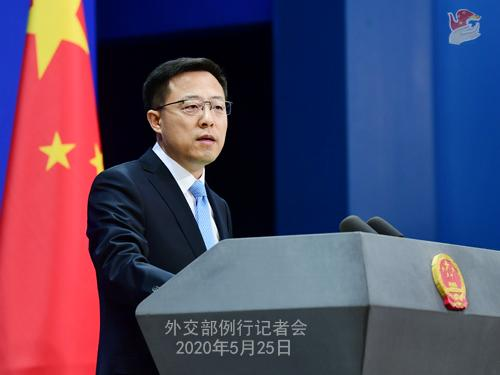 美运输部要求中国航司报备航班计划 中国外交部回应