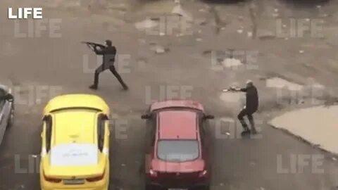 ↑枪战持续了至少20分钟,至少有8人参与。 图据Life新闻