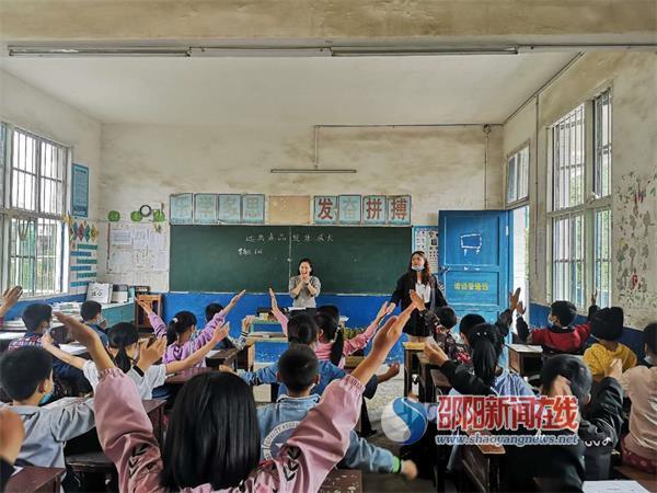隆回县苏塘中心小学将禁毒知识融入音乐课堂
