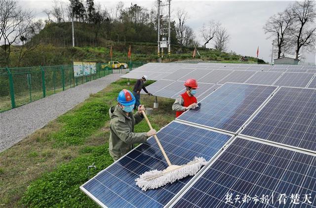 发电效率提升两成以上!湖北省光伏扶贫科研成果达世界领先水平