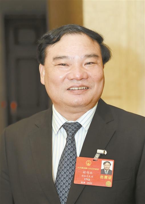 为湖南经济社会发展争取最好结果——访全国人大代表、省发改委主任胡伟林