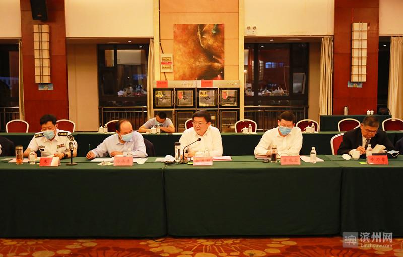佘春明参加沾化•解放军代表团审议:滨州一定要走内涵式发展道路走科创之路