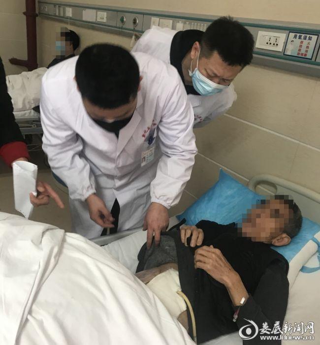 新化县人民医院成功为高龄老人开展腹腔镜手术
