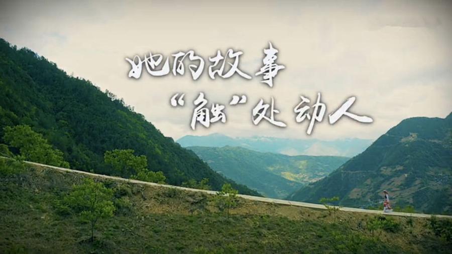 """新闻互动微纪录片丨她的故事,""""触""""处动人"""