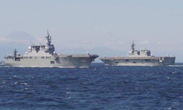 美媒:中国海军实力超过日本 但日本舰艇平均吨位依然领先