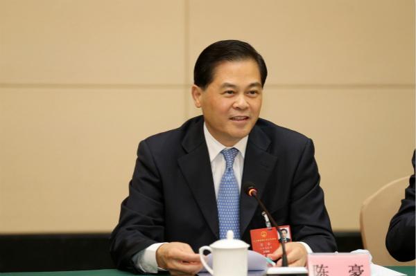 「天富」委会主任陈豪代表天富依法打击各类图片