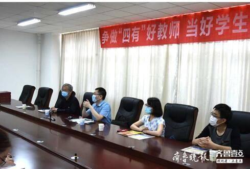 北京理工大学招生组到泰安一中宣讲招生政策