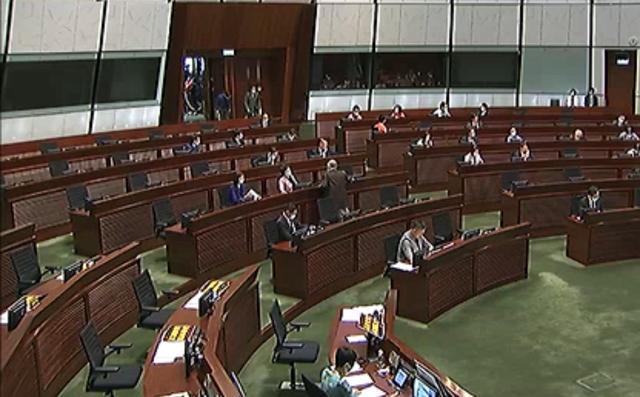 「天富」港国歌法立法会恢复二读63天富岁议员通宵图片