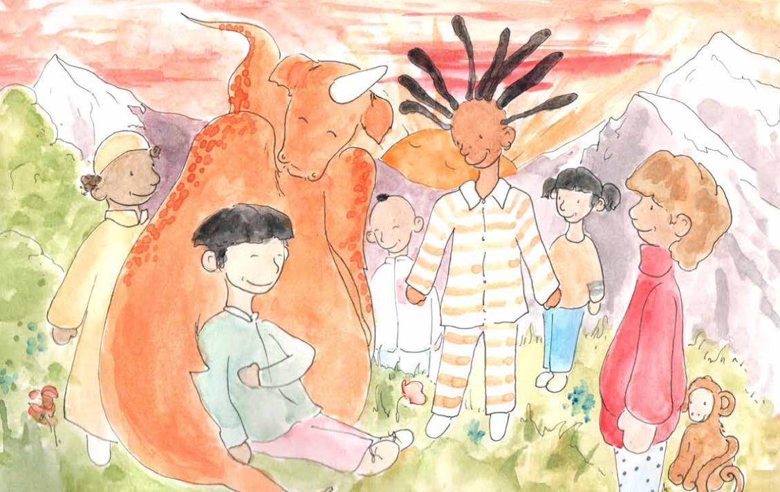 摩天娱乐:联合国摩天娱乐发布多语言儿童图画图片