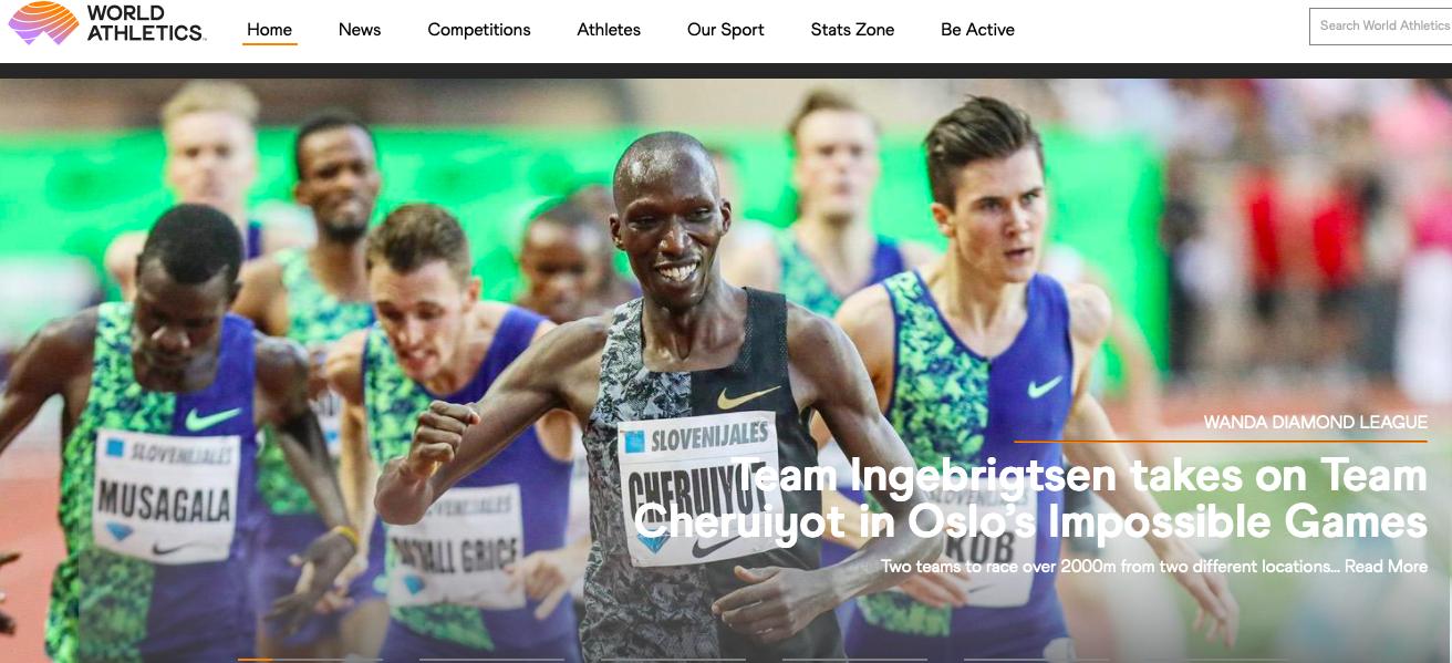 世界田联线上赛玩花样,肯尼亚、挪威隔空对决2000米图片