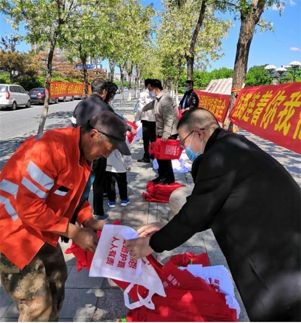 """四平市护路办积极开展""""5.26""""爱路护路宣传活动"""