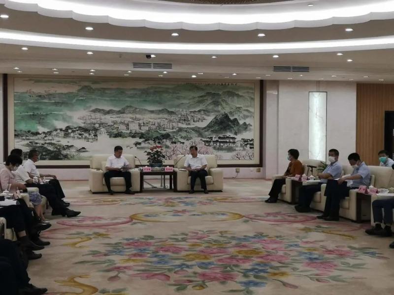 【广物要闻】广物控股集团党委书记、董事长方启超一行拜访东莞市领导
