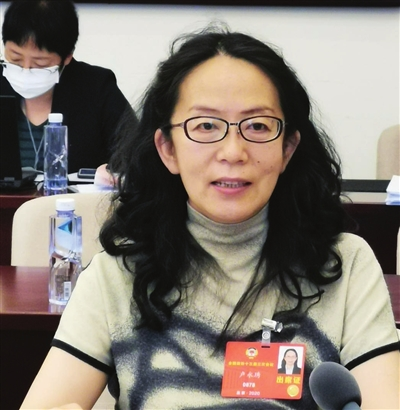 全国政协委员、天津美术馆副馆长 卢永琇