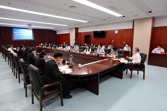 青岛中院召开青岛地区外资金融机构座谈会