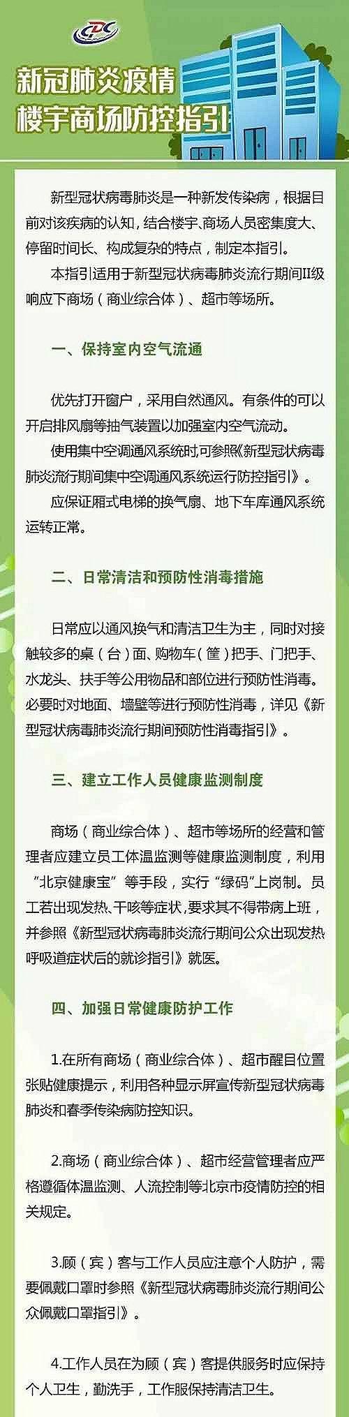 北京市疾控中心发布楼宇商场防控指引 电梯按钮每日至少消毒3次图片