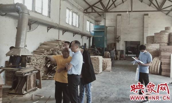 """荥阳市高村乡开展工业企业""""六治理""""验收工作"""