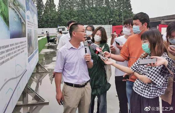 连接上海青浦和江苏吴江,东航路改建工程预计9月底完工