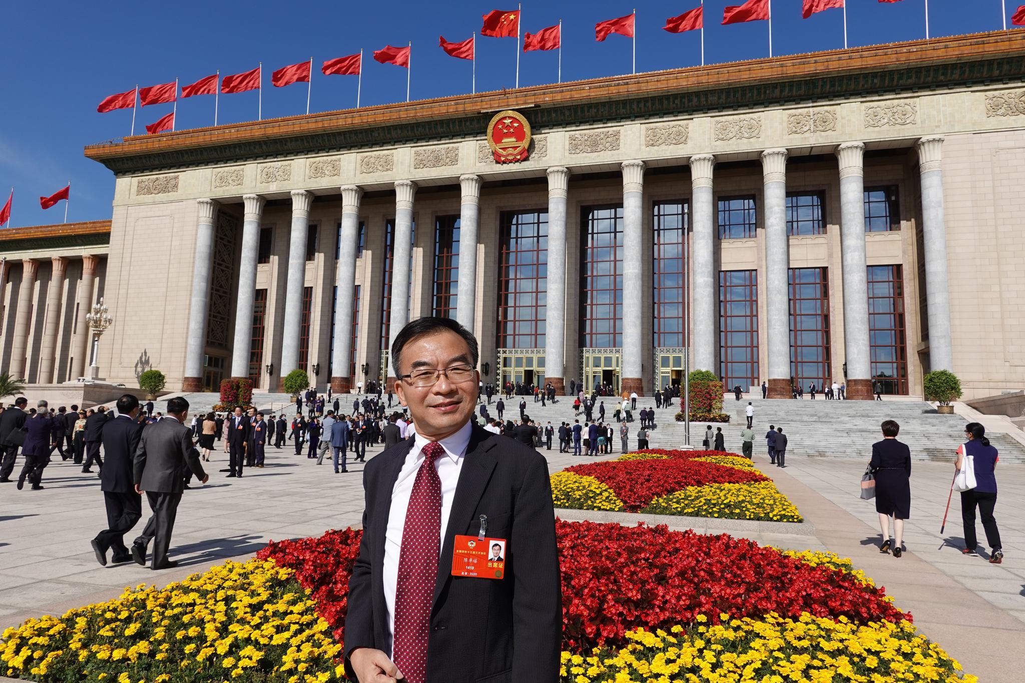 港赢咖3官网区全国政协委员陈卓禧,赢咖3官网图片