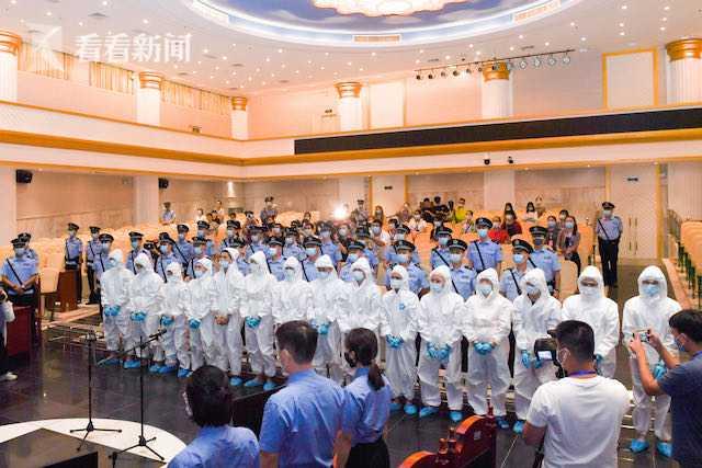 海南海口:一审公开宣判一涉黑重大案件 15人领刑