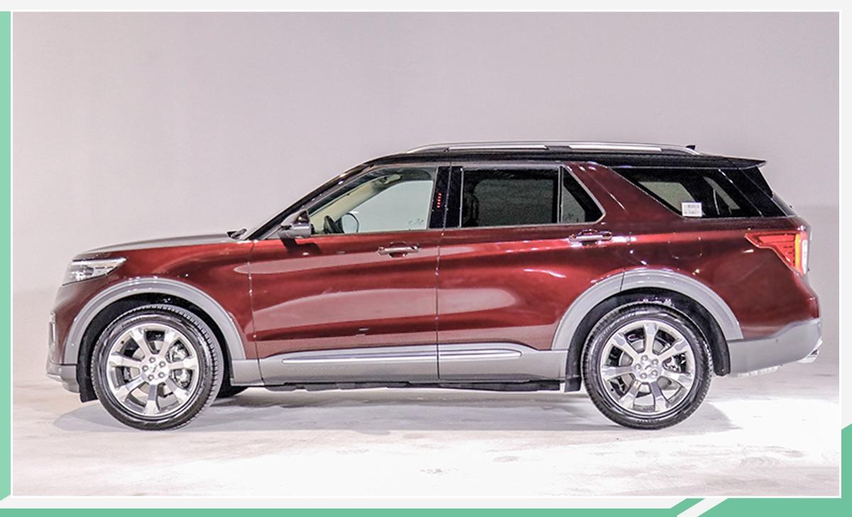 主销车型预售35万元起 第六代福特探险者6月上市