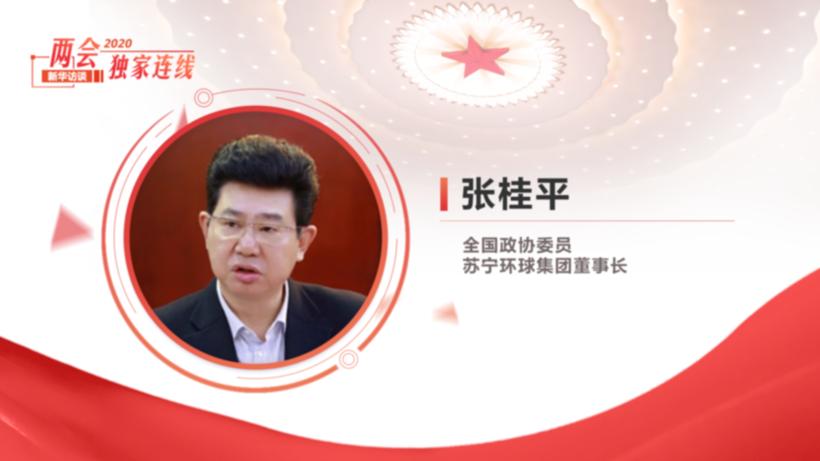 全国政协委员、苏宁环球集团董事长张桂平:全力脱贫 共赴小康