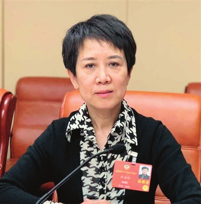 全国政协委员、南开区政协副主席 许洪玲