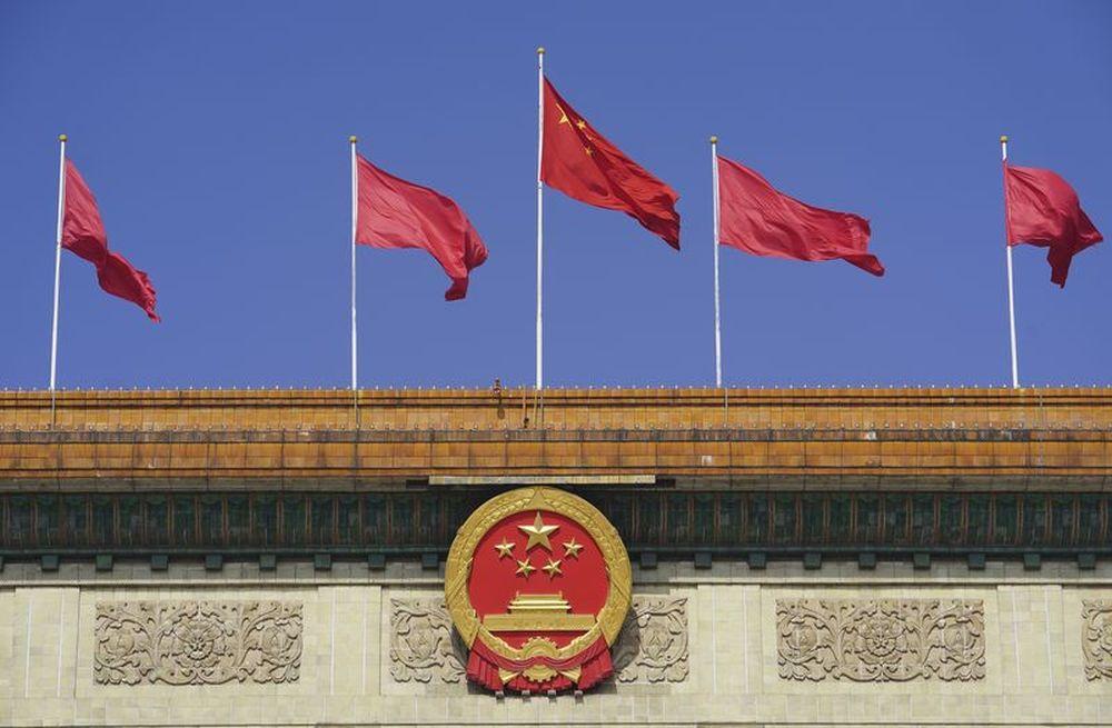 5月22日,第十三届天下人民代表大会第三次集会在北京人民大礼堂开幕。这是人民大礼堂外景。新华社记者 邢广利 摄