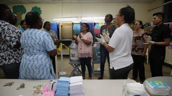 苏里南大选计票仍在进行中 最大反对党选票领先
