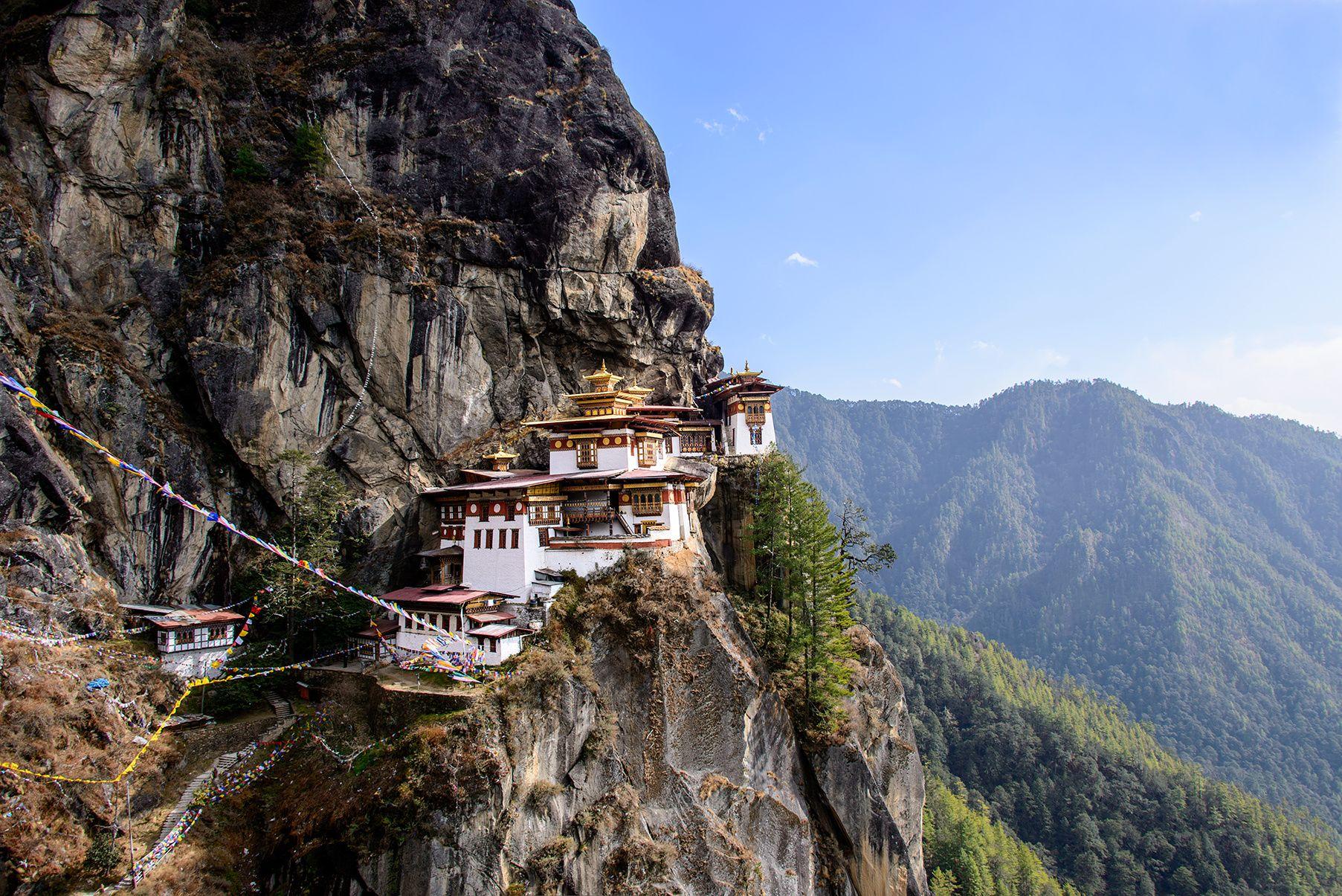 到此一游|藏在不丹河谷的五处秘境,探索古老寺庙和村庄图片
