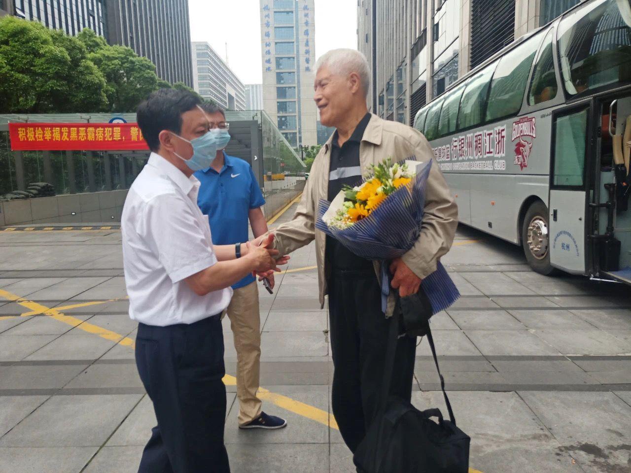 80岁蒋兴权卸任浙江男篮顾问,三年期满主动请辞图片