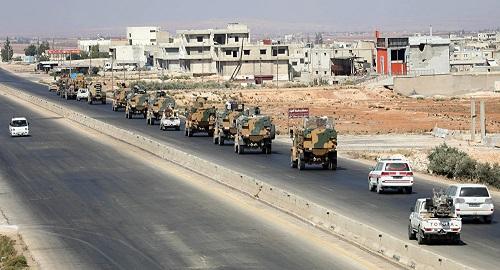 俄媒:土耳其巡逻车叙利亚被炸一死 与当地恐怖主义武装团伙有关