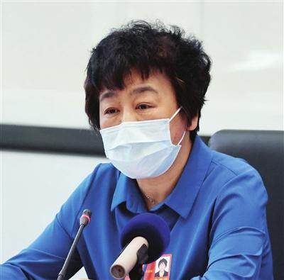 全国人大代表、中国航天科工二院党委书记 马杰