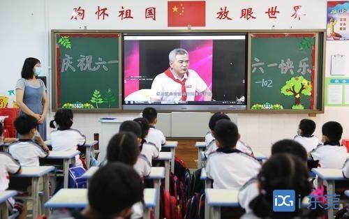 南城阳光中心小学举行儿童节系列活动:防疫不压抑 快乐过六一