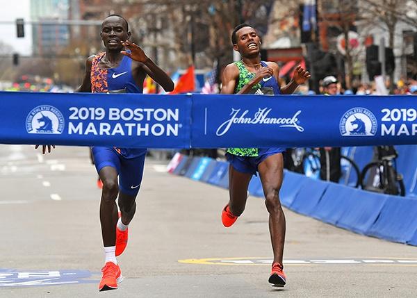 波士顿马拉松124年首取消 面对恐袭爆炸他们不曾止步