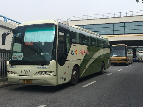 浦东机场长途客运线路陆续恢复 6月1日运营线路将达11条