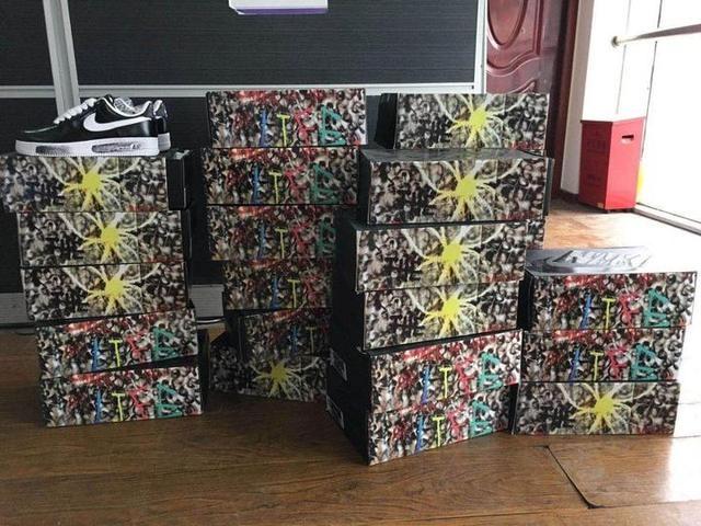 花15万元买球鞋 收货一看:一堆假鞋