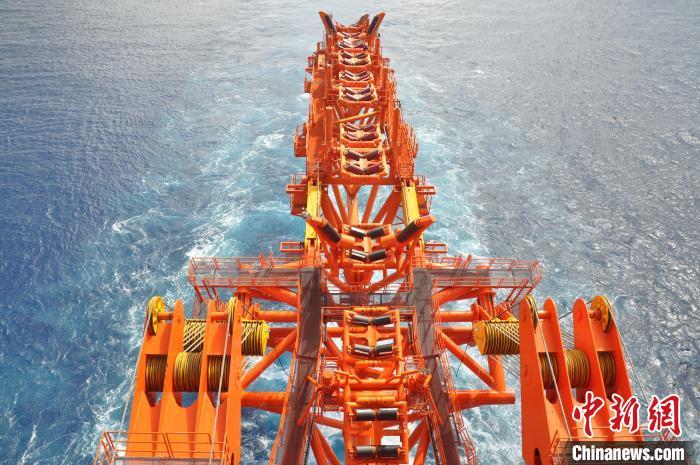 摩天测速:海油工程创摩天测速中国海底管线图片