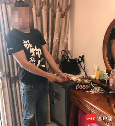 海南三亚:男子分手后重返出租屋 盗走前女友多件金首饰