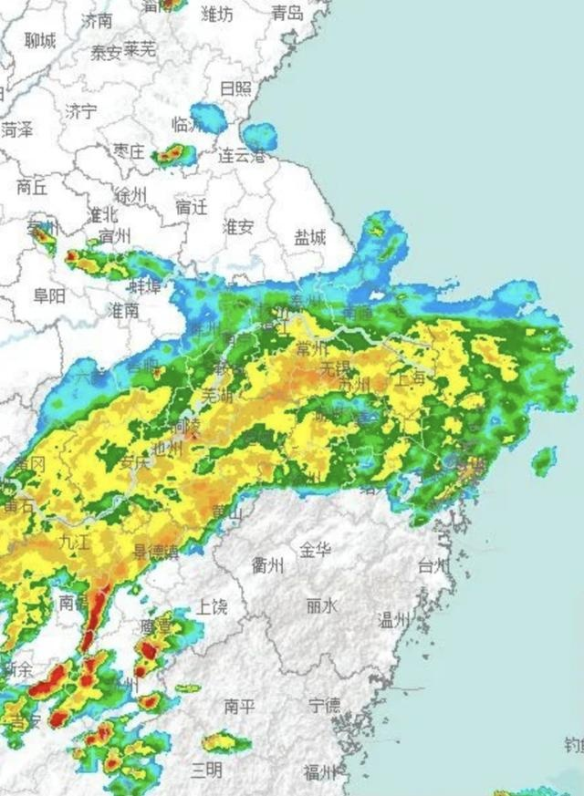 """今夜到明晨上海大到暴雨,还有大风雷电!""""大到暴雨""""的雨是有多大?"""