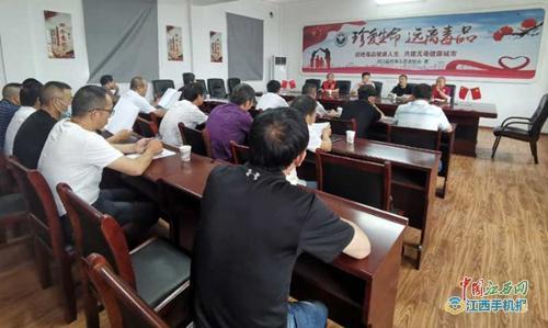 湖口县大力开展禁毒宣传 助推文明城市创建(组图)