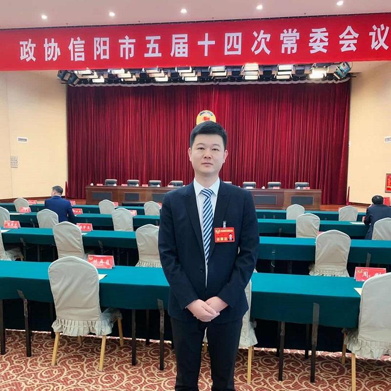 信阳市政协委员周磊提案:搭建招才引智平台 助推经济发展