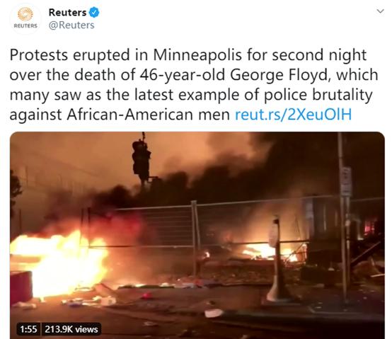 美国国内的骚乱 开始让乱港势力出现微妙的分化图片