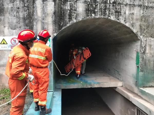 云南墨江水电站发生疑似爆炸事故,现场救援工作已结束
