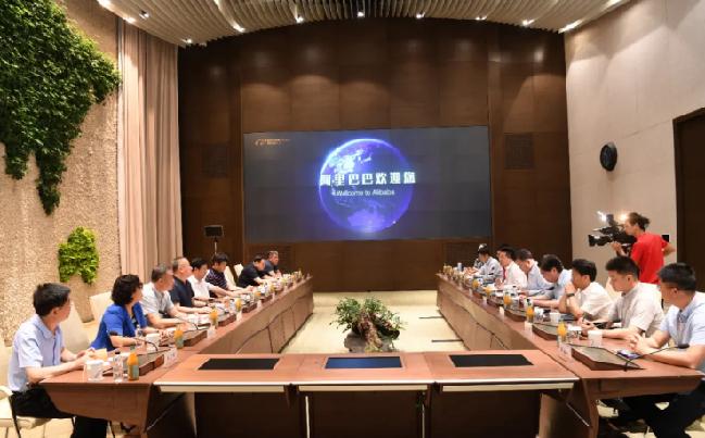 临汾市党政代表团赴浙江陕西学习考察