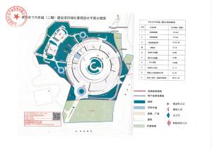 盘龙区城市管理局 车行天下汽车城(二期)建设项目绿化工程设计方案公示