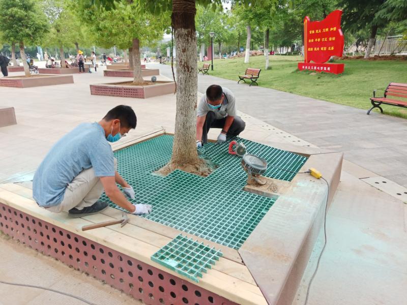 连云港海州公园全力打造文明主题公园:净水质 补绿植