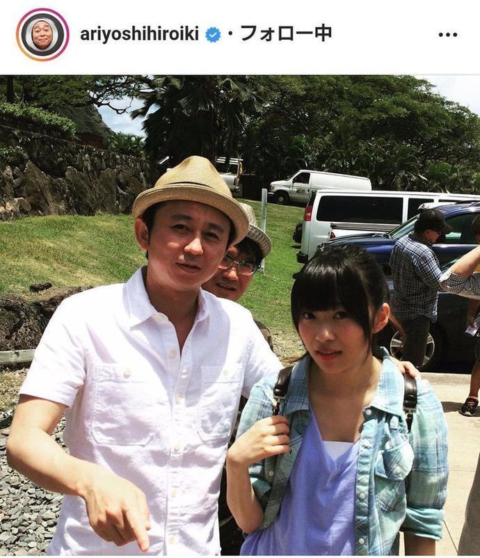 有吉弘行在Instagram晒出与指原莉乃在HKT48时期的照片