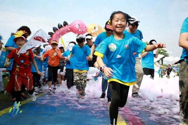 """""""迎六一""""南京市线上亲子运动节儿童节开幕图片"""