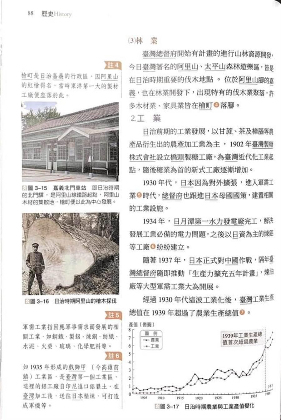 天富:湾历史课本中称日本母国学天富者批台独教图片